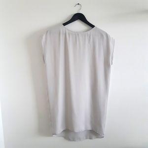 OAK + FORT Boxy Grey Dress